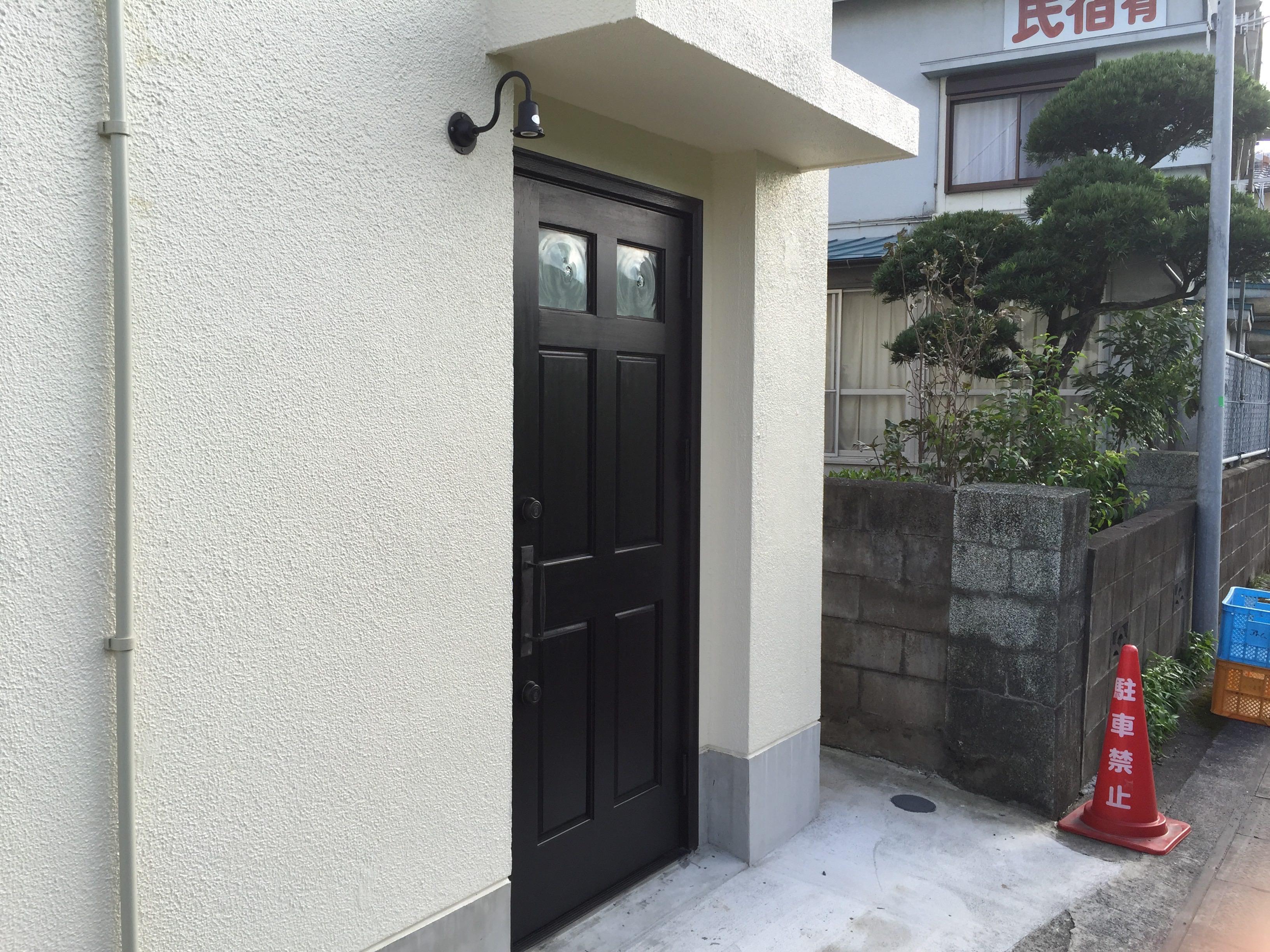 タマニワの裏玄関