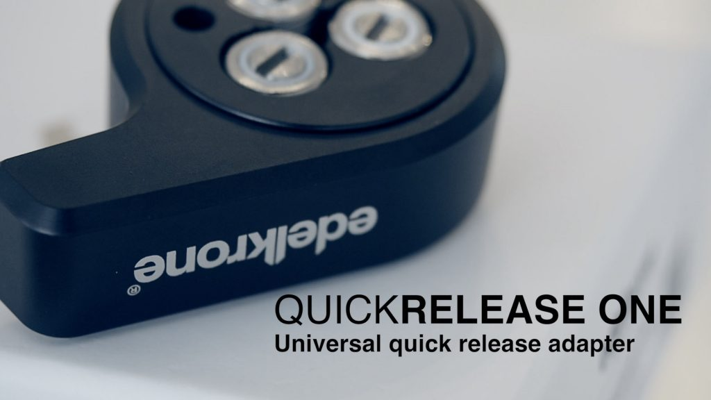 edelkrone - QUICKRELEASE ONE hands on