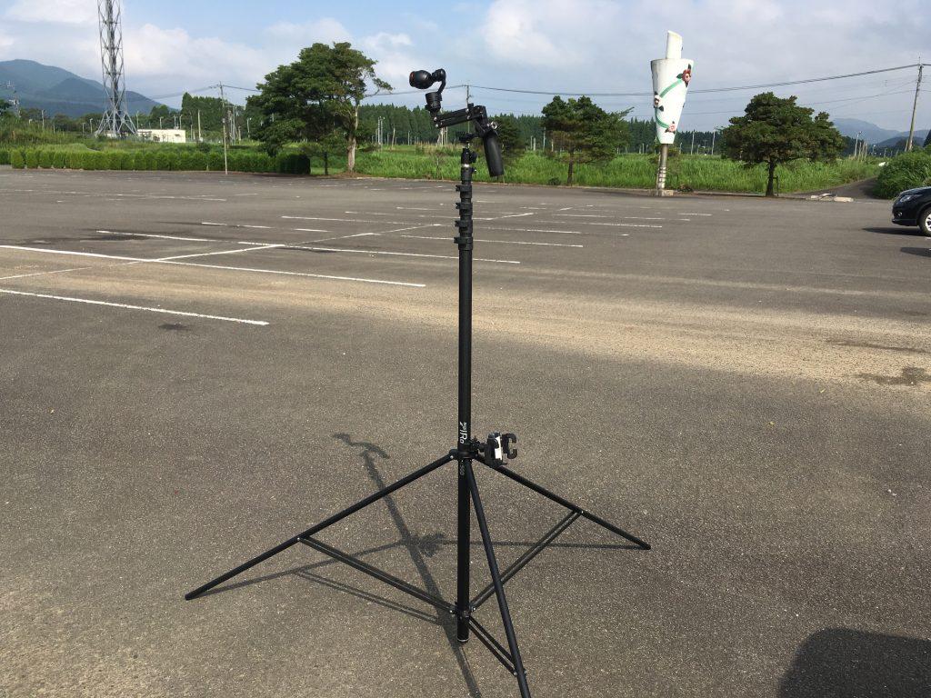 Bi Rod 6G-7500とDJI OSMO