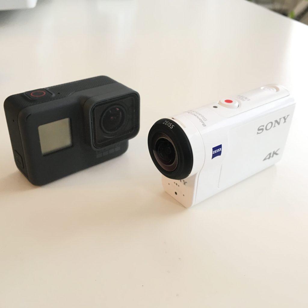 FDR-X3000とGoProHero5