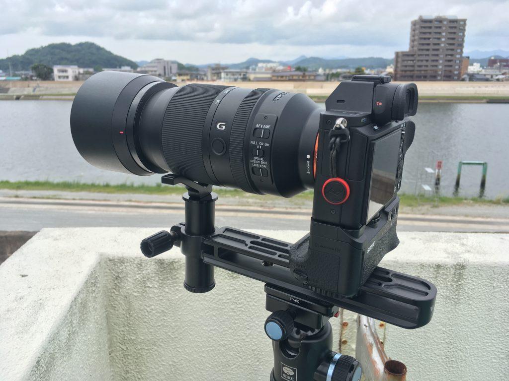 望遠レンズ専用サポーター